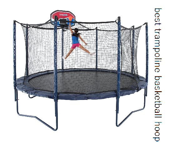 best trampoline basketball hoop